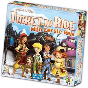 Ticket to Ride spel voor kinderen